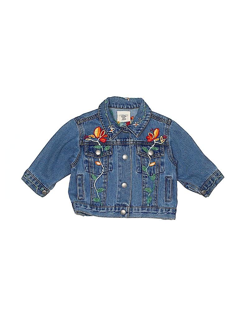 Baby Gap Girls Denim Jacket Size Small infants - Medium infants