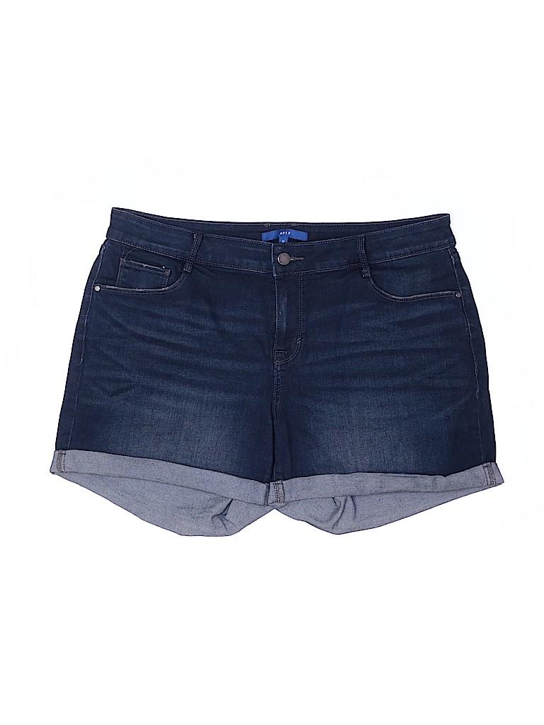 Apt. 9 Women Denim Shorts Size 16