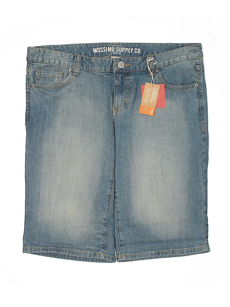 Mossimo Supply Co. Women Denim Shorts Size 14