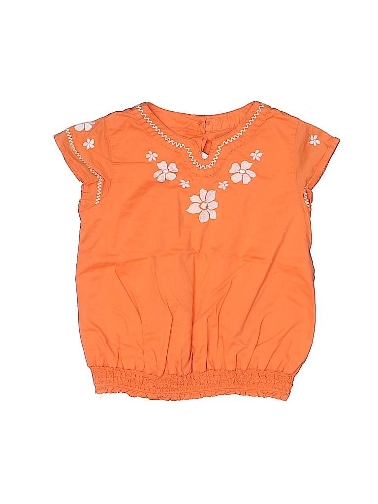 Gymboree Girls Short Sleeve Blouse Size 3T