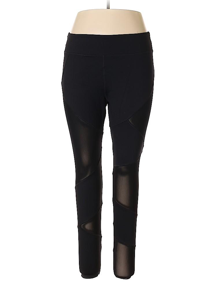 Forever 21 Women Active Pants Size 2X (Plus)