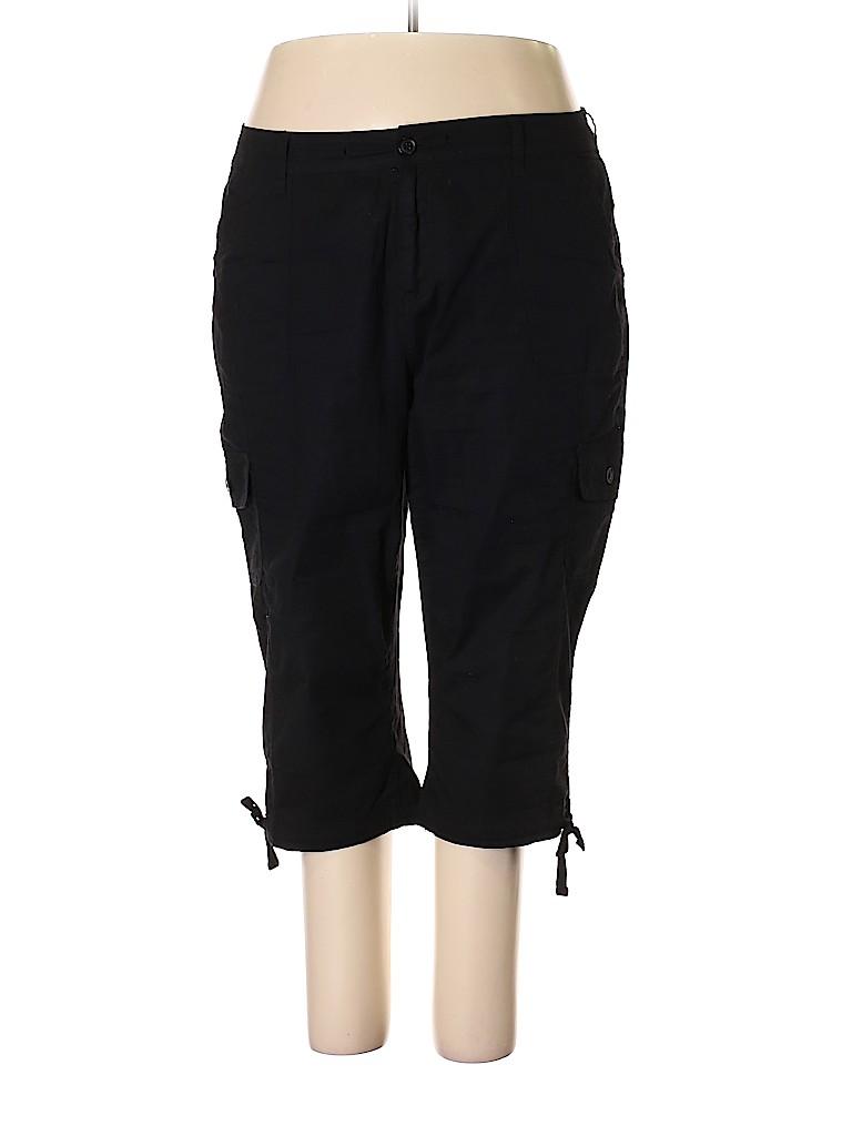 St. John's Bay Women Cargo Pants Size 20W (Plus)