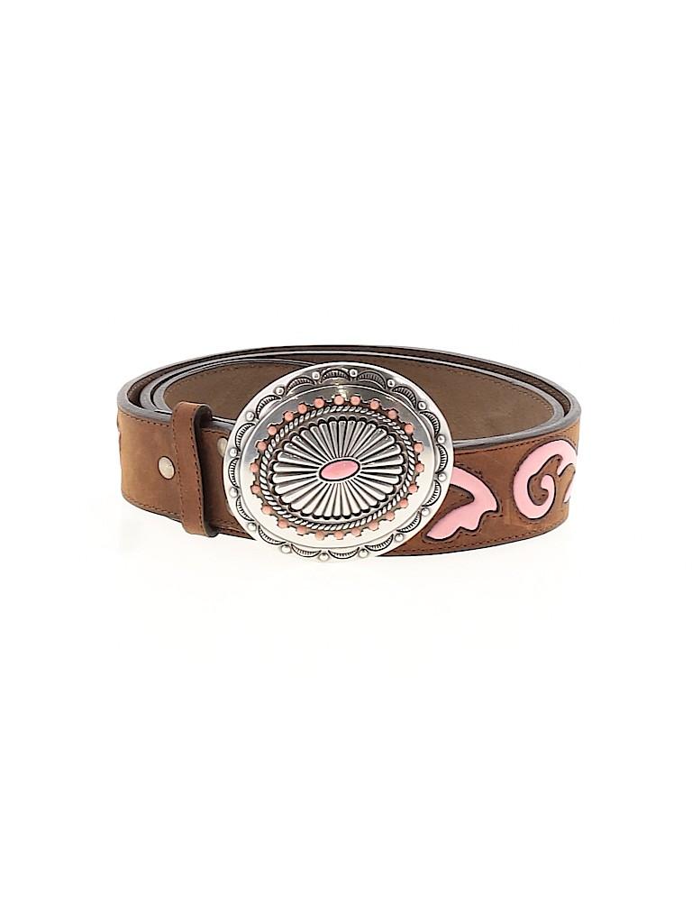 Nocona Belt Co. Women Leather Belt Size L