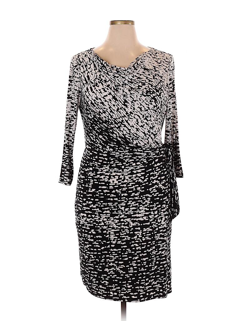 Lauren by Ralph Lauren Women Casual Dress Size 16