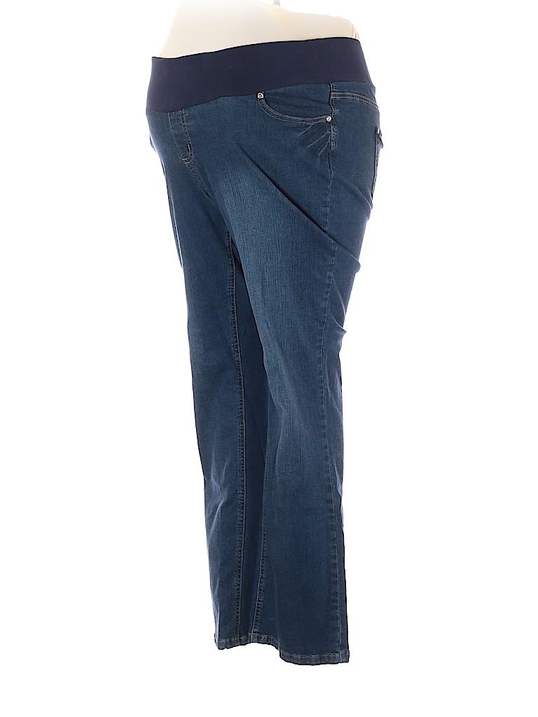 Planet Motherhood Women Jeans Size XL (Maternity)