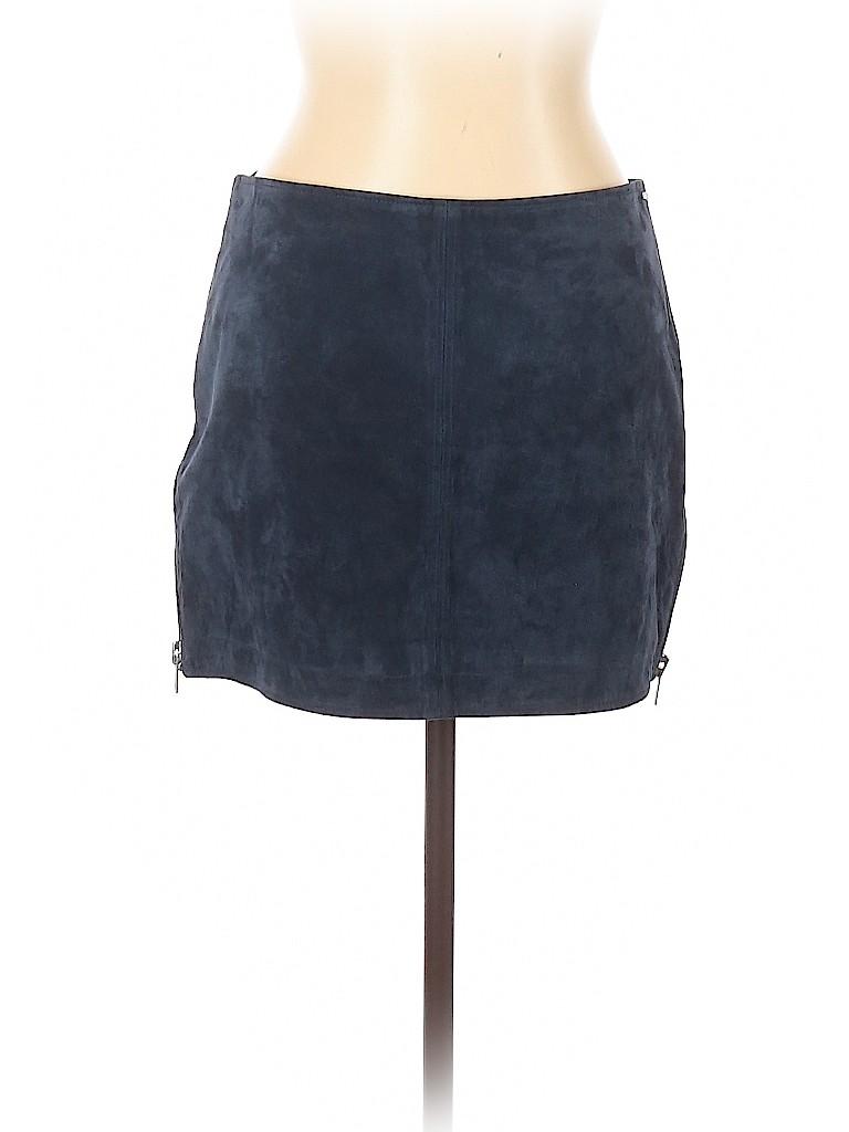 Assorted Brands Women Leather Skirt 30 Waist