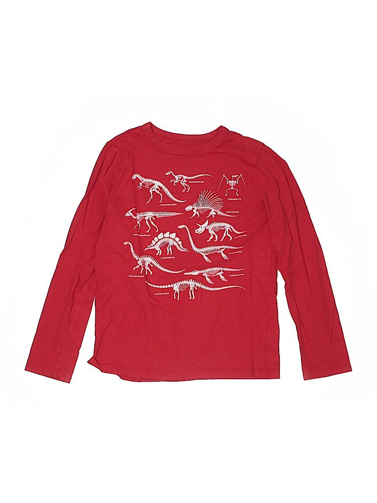 Gap Kids Boys Long Sleeve T-Shirt Size M (Kids)