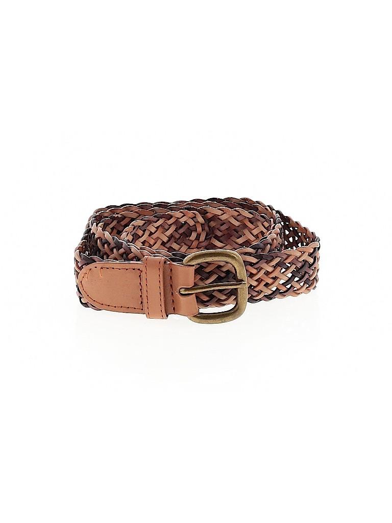 Unbranded Women Leather Belt Size 2X (Plus)