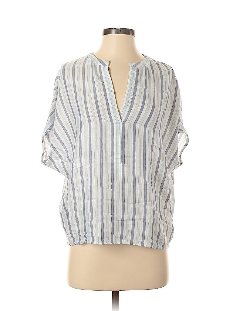 BCBGMAXAZRIA Women Short Sleeve Blouse Size XS