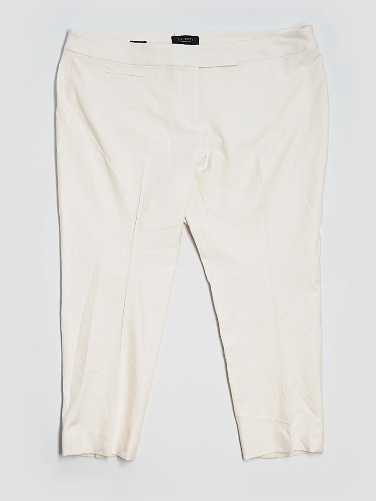 d0ee3fab0e0b8 Talbots Ivory Gray Dress Pants Size 18WP (Plus) - 76% off