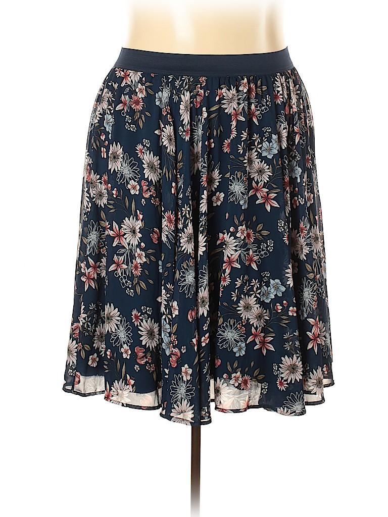 Torrid Women Casual Skirt Size 4X Plus (4) (Plus)