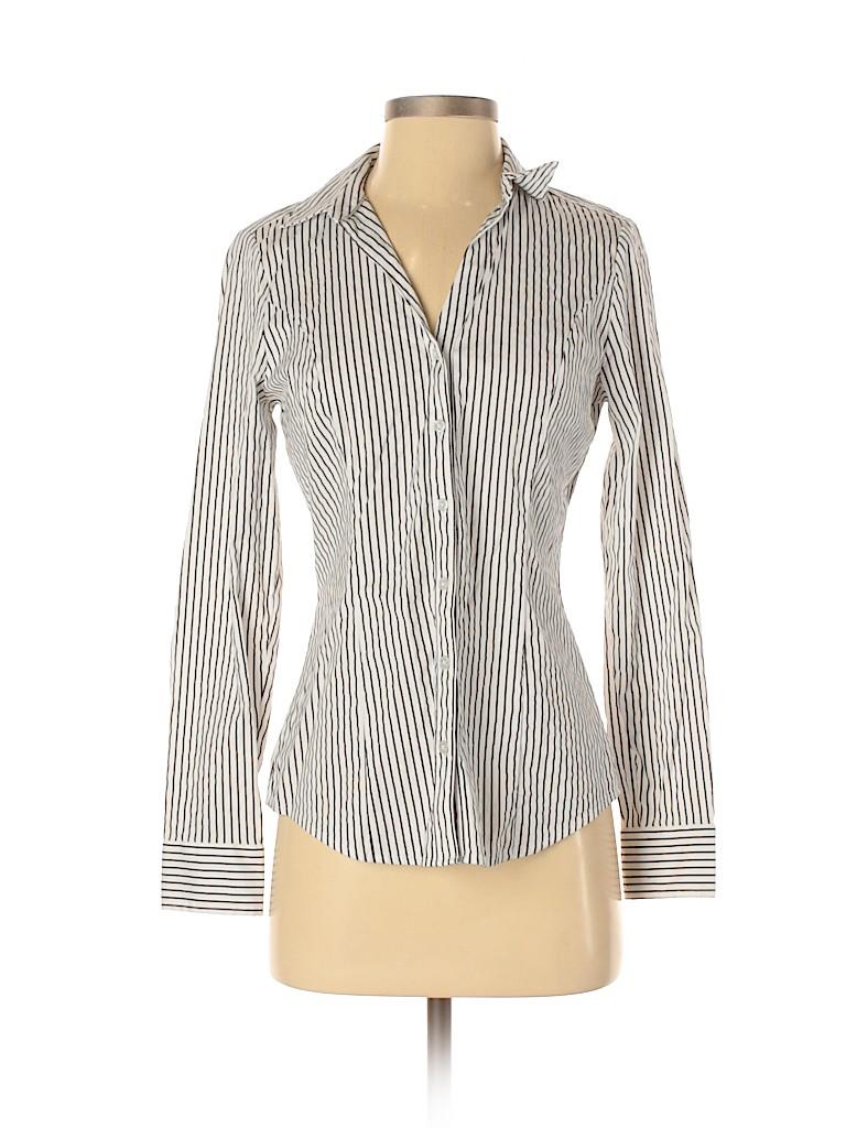 Express Women Long Sleeve Button-Down Shirt Size S