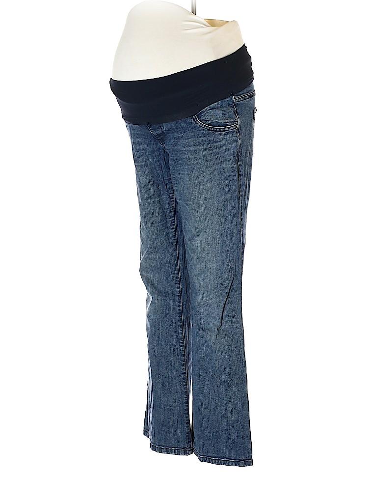Oh Baby By Motherhood Women Jeans Size M (Maternity)
