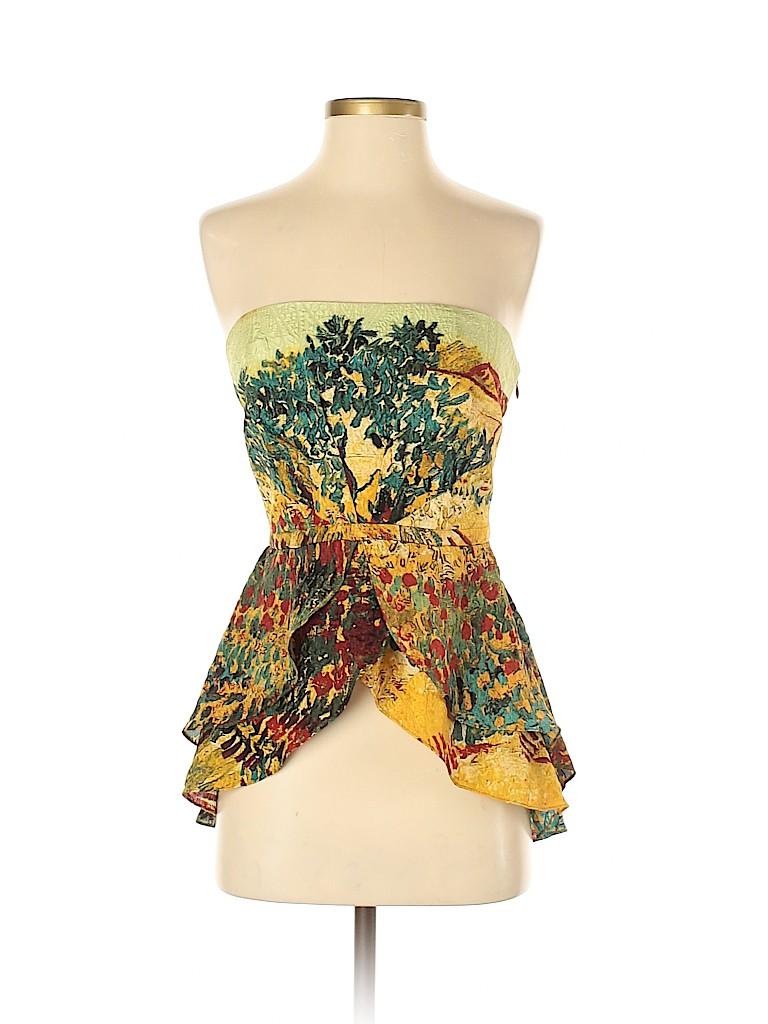 Tracy Reese Women Sleeveless Silk Top Size 4