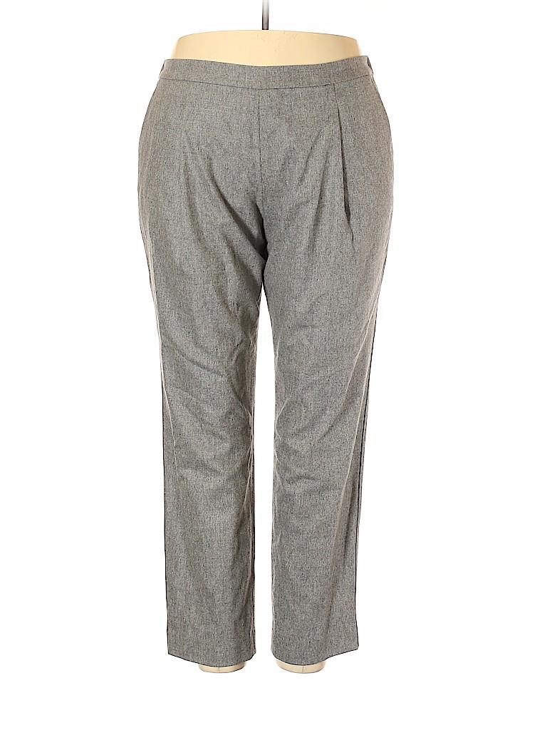 Lafayette 148 New York Women Wool Pants Size XXL (Plus)