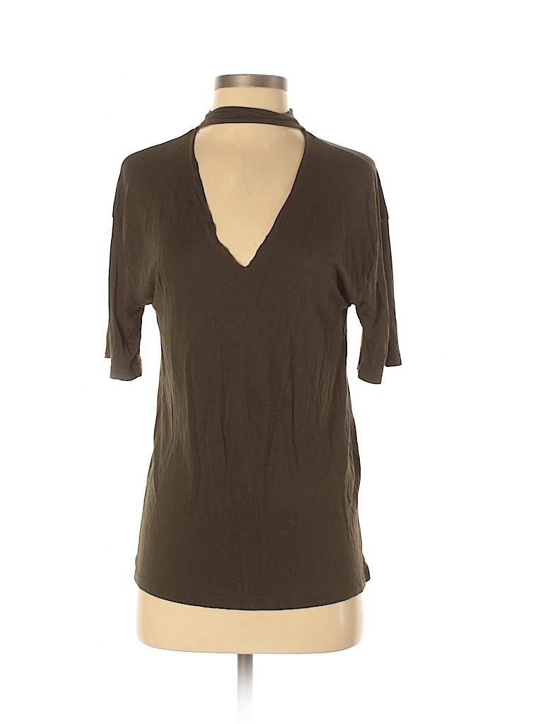 Trafaluc by Zara Women Short Sleeve Top Size S