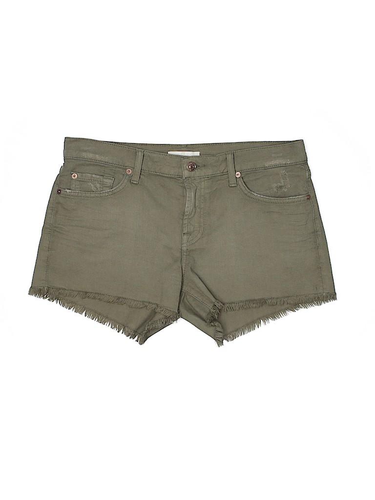 7 For All Mankind Women Denim Shorts 29 Waist