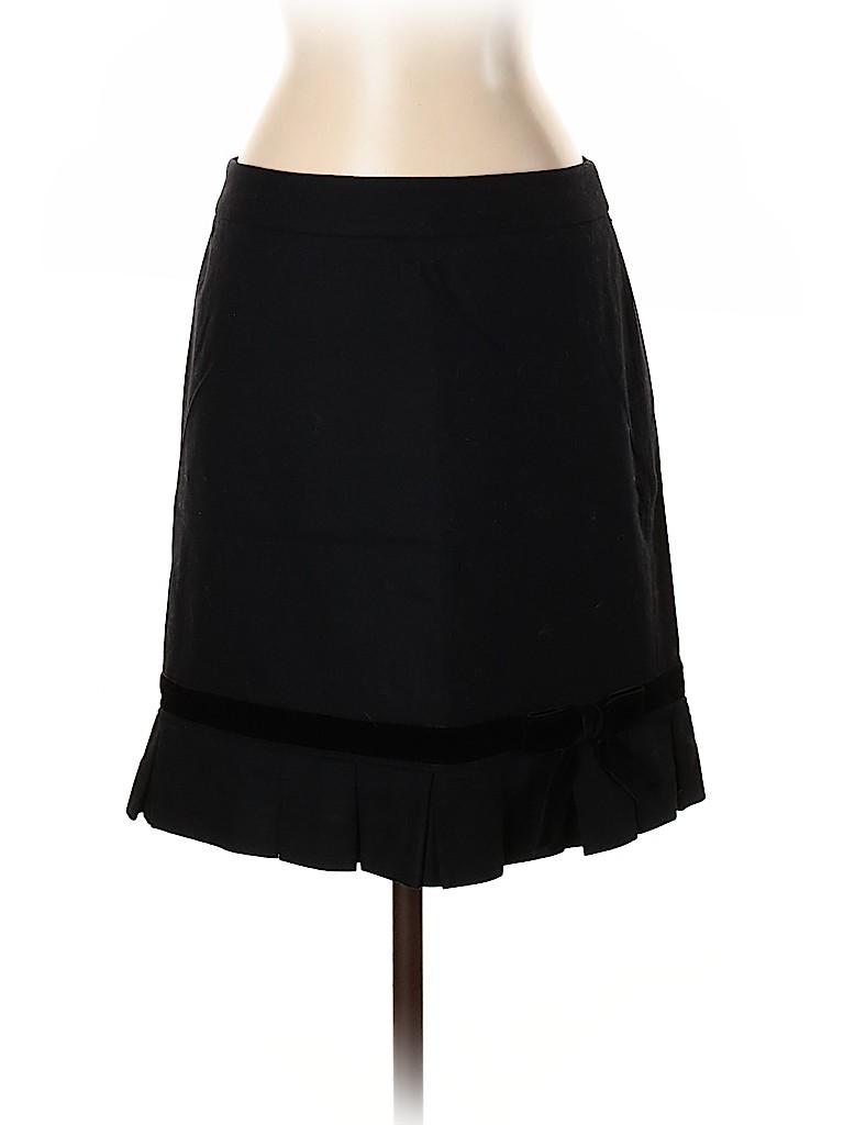 Banana Republic Women Wool Skirt Size 2