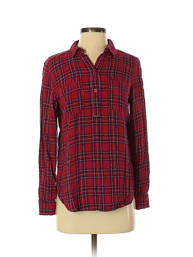 Universal Thread Women Long Sleeve Button-Down Shirt Size XS