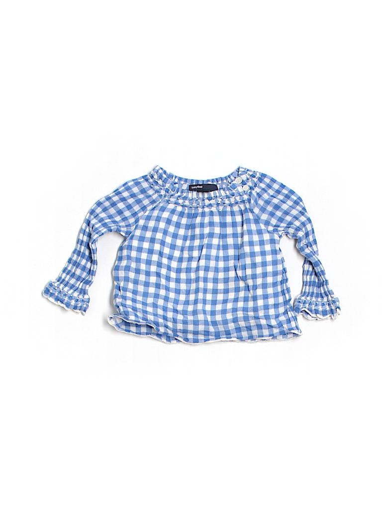 Baby Gap Girls Long Sleeve Blouse Size 6-12 mo