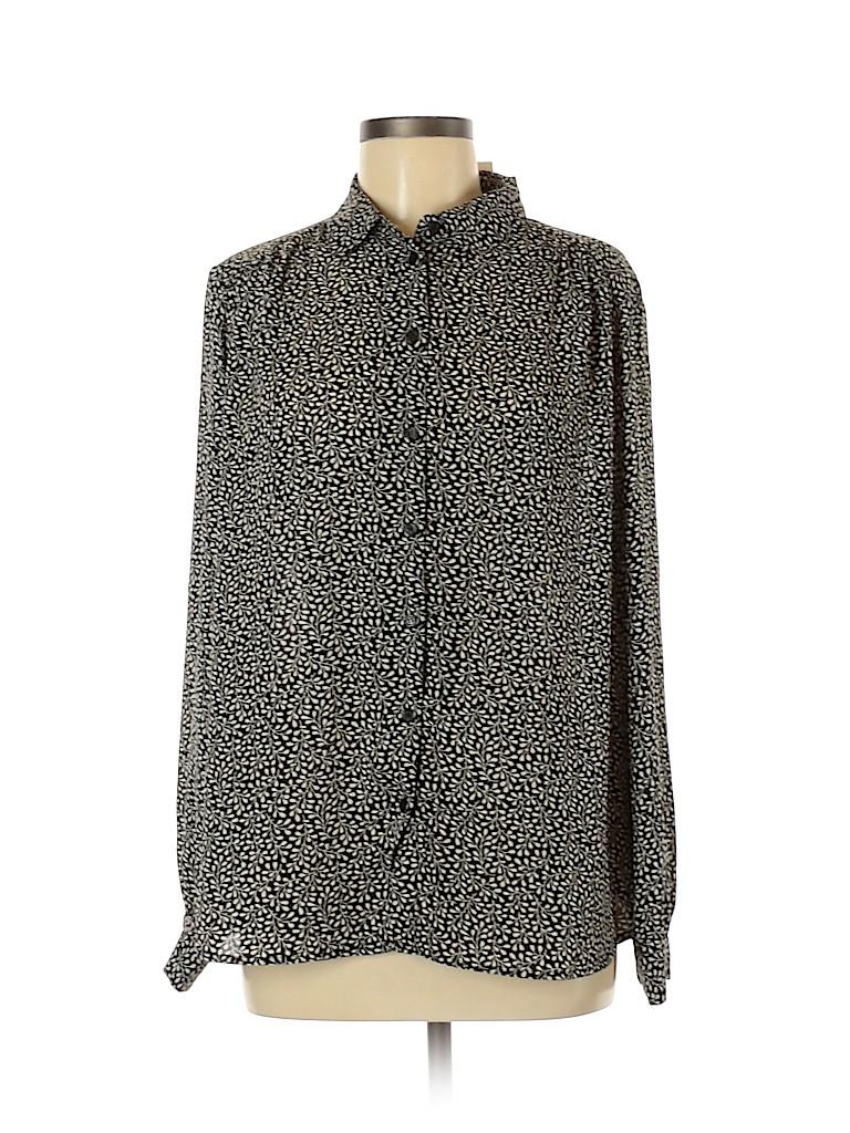 H&M Women Long Sleeve Blouse Size 12