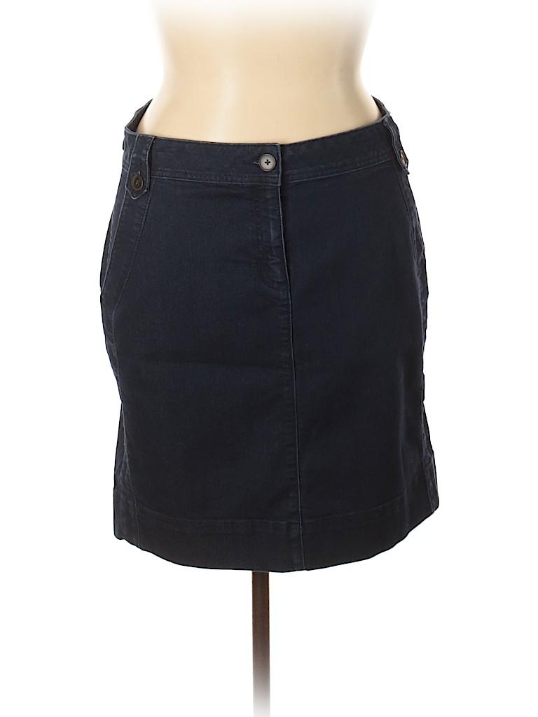 Dana Buchman Women Denim Skirt Size 16