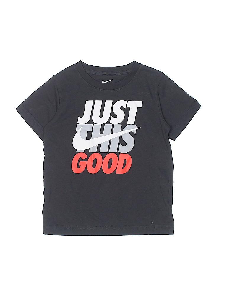 Nike Boys Short Sleeve Button-Down Shirt Size 7