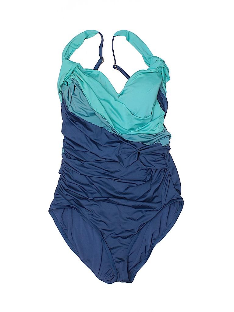 Badgley Mischka Women One Piece Swimsuit Size 8