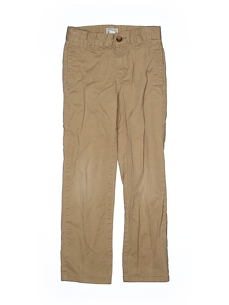 The Children's Place Boys Khakis Size 7 (Slim)