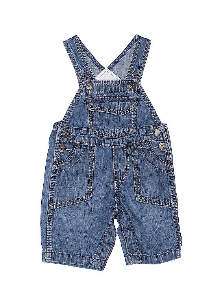 OshKosh B'gosh Boys Overall Shorts Size 3 mo