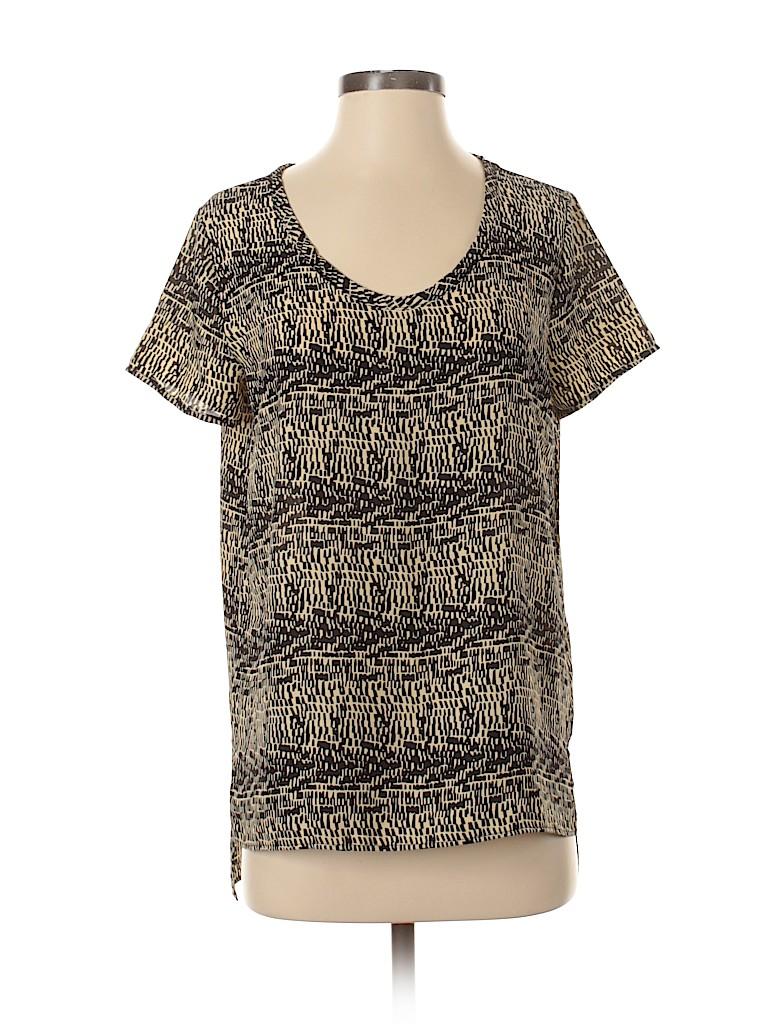 Soprano Women Short Sleeve Blouse Size S