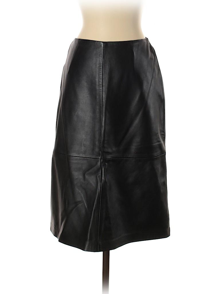 Gap Women Leather Skirt Size 1