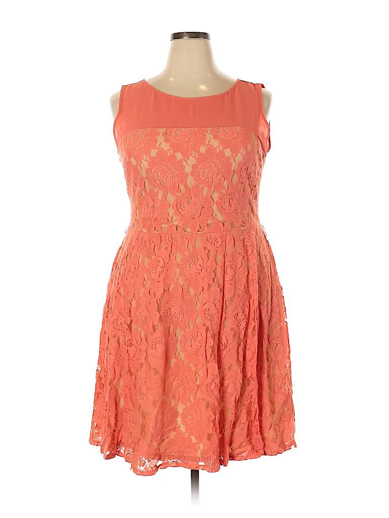 Julian Taylor Women Casual Dress Size 18 (Plus)