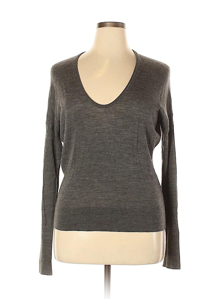 Lands' End Women Wool Pullover Sweater Size XL
