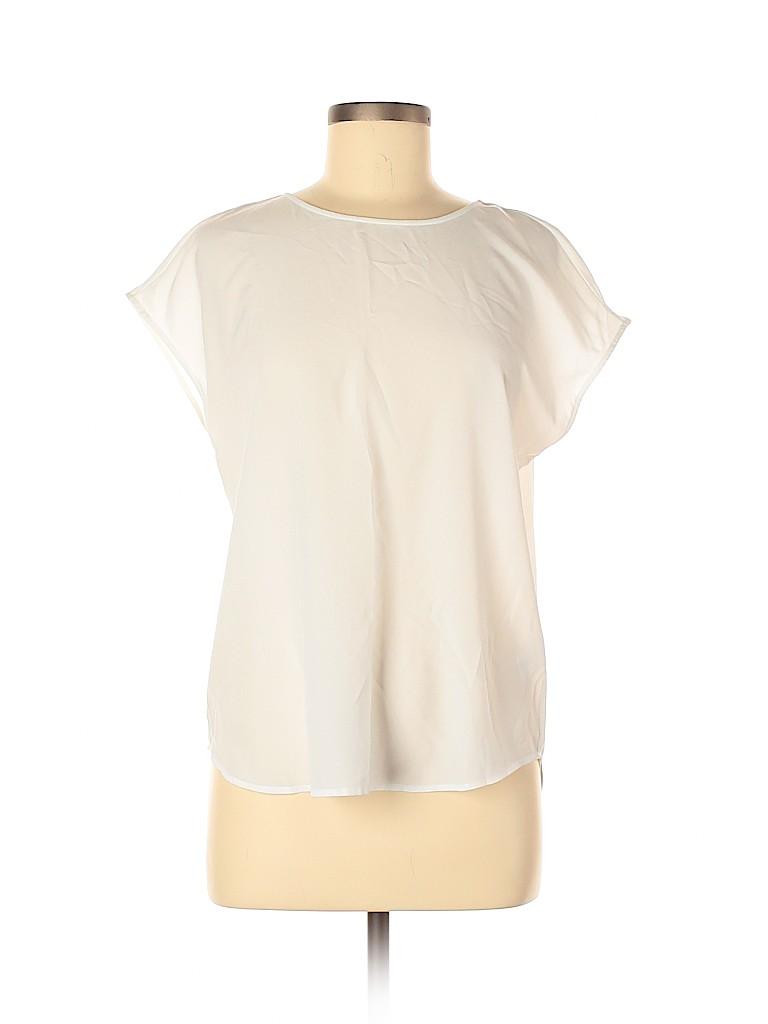 Hinge Women Short Sleeve Blouse Size S