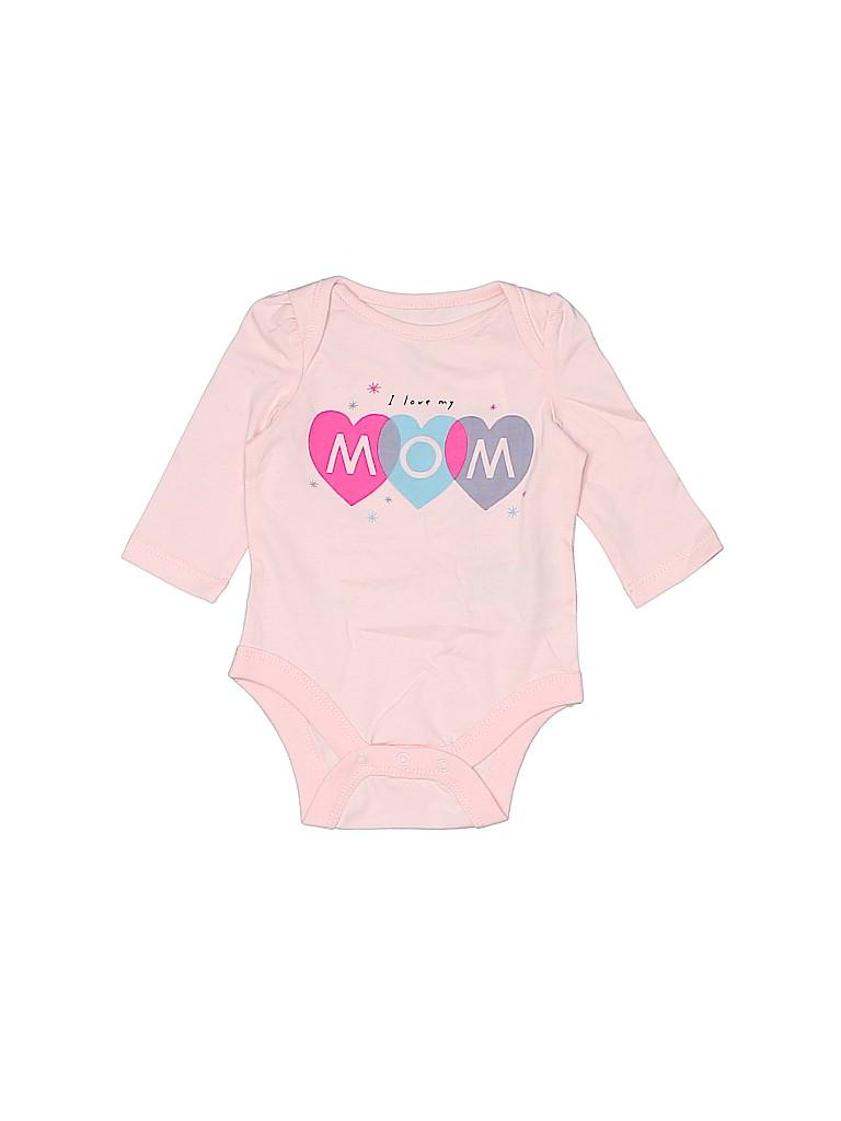 Baby Gap Girls Long Sleeve Onesie Size 0-3 mo
