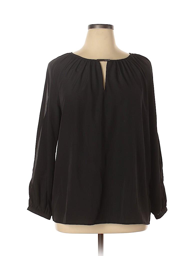 MICHAEL Michael Kors Women Long Sleeve Blouse Size XL