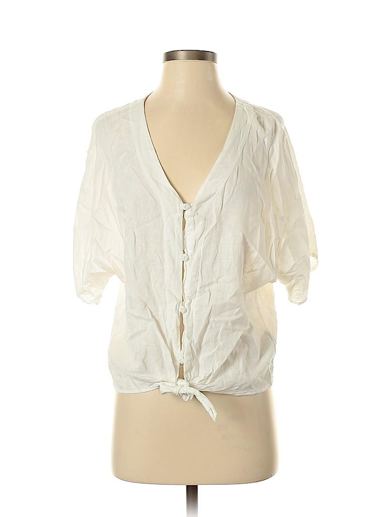 Gap Women Short Sleeve Blouse Size S