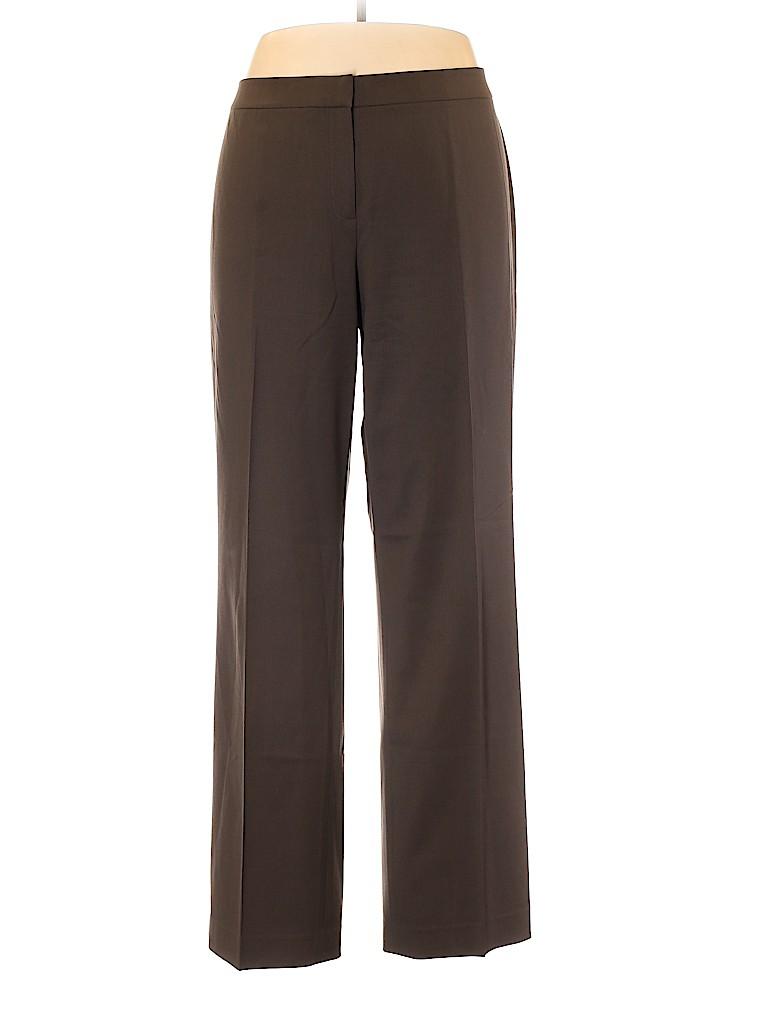 Lafayette 148 New York Women Wool Pants Size 18 (Plus)
