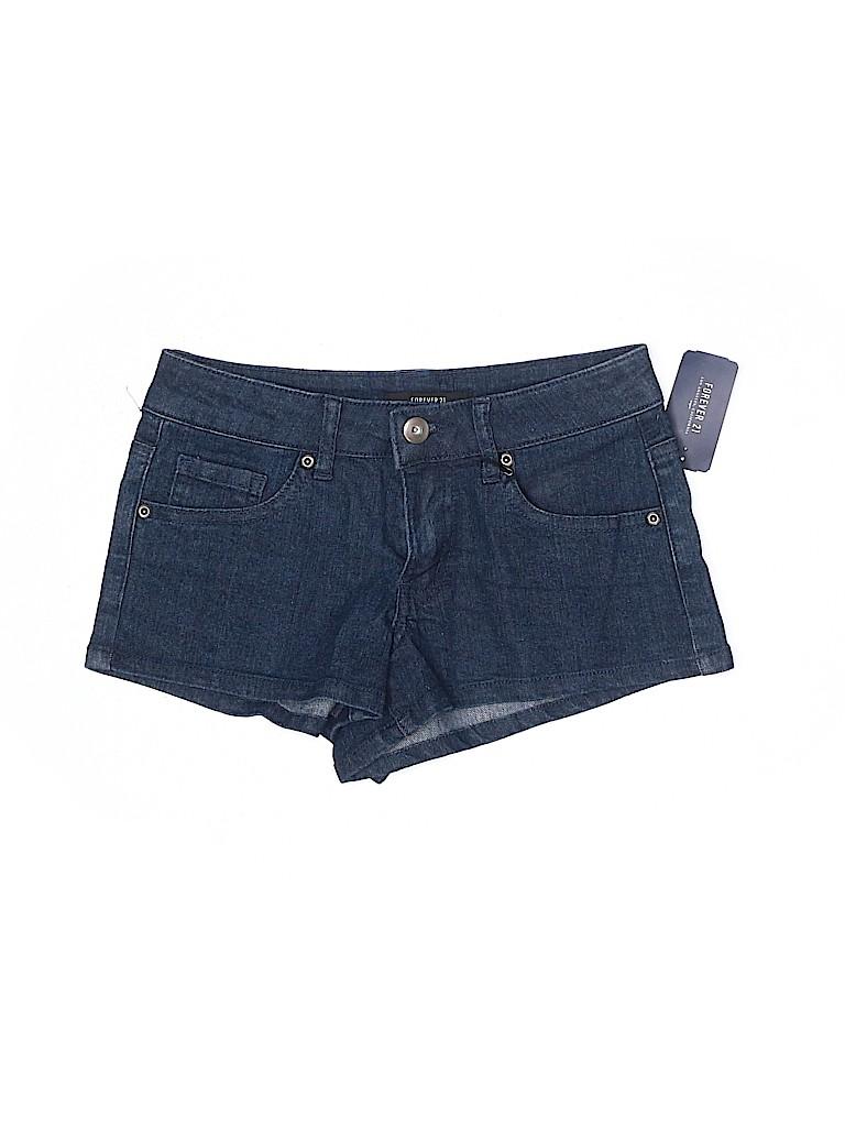 Forever 21 Women Denim Shorts 24 Waist