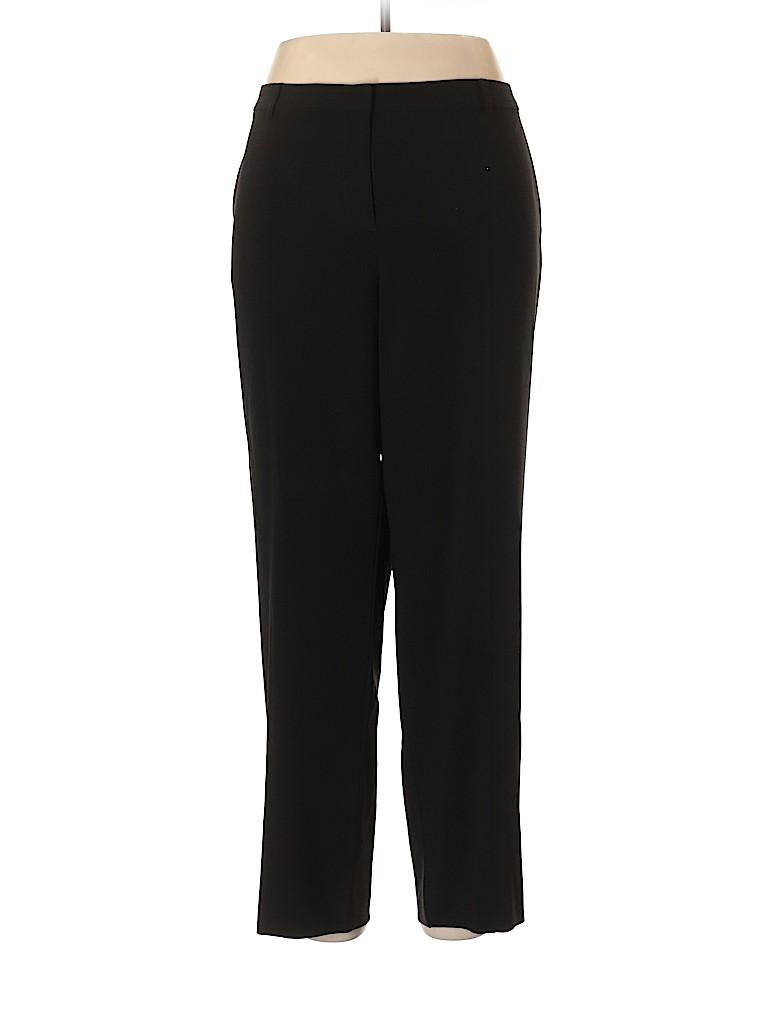 St. John Caviar Women Dress Pants Size 16