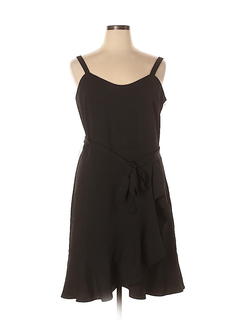 Saks Fifth Avenue Women Casual Dress Size 16