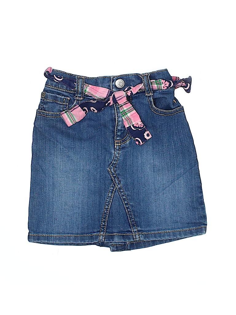 Gymboree Girls Denim Skirt Size 5