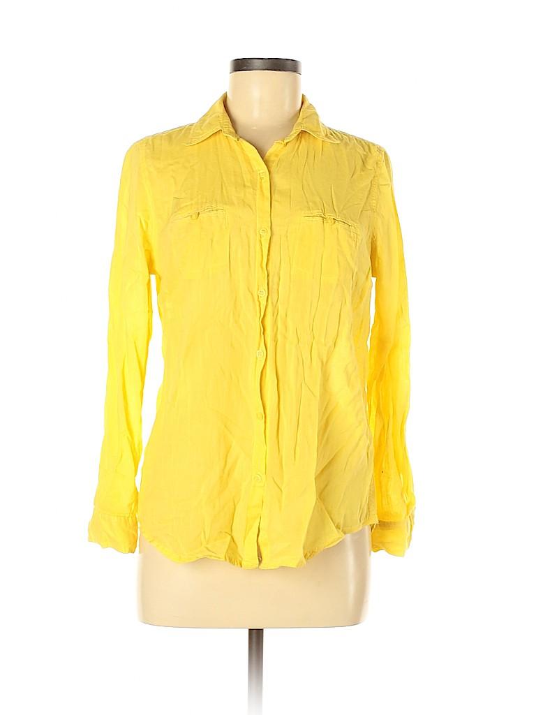 BDG Women Long Sleeve Button-Down Shirt Size M