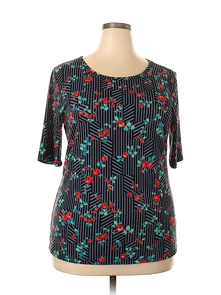 Lularoe Women Short Sleeve T-Shirt Size 3X (Plus)