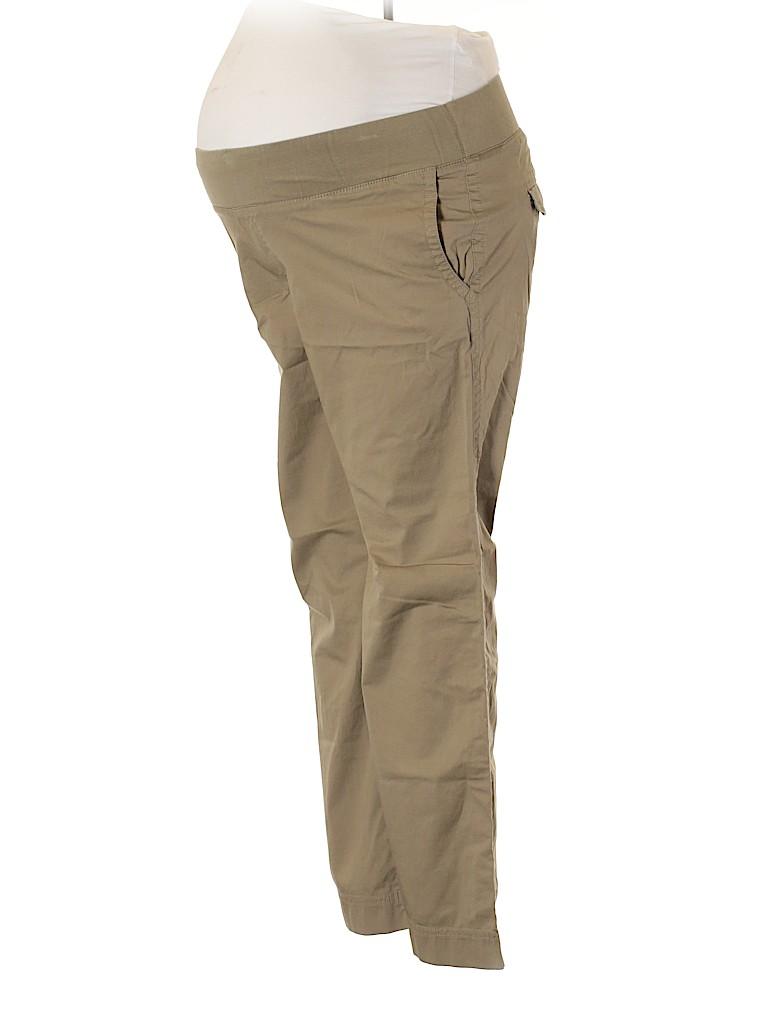 Gap - Maternity Women Khakis Size 12 (Maternity)
