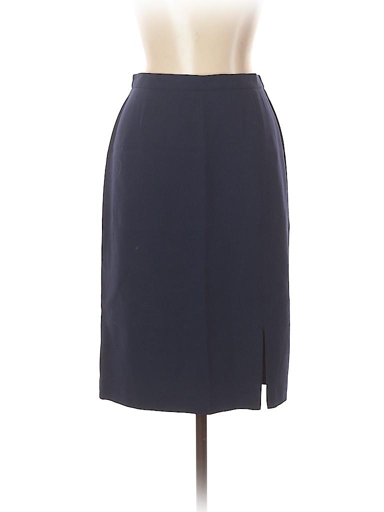 Luisa Spagnoli Women Wool Skirt Size 46 (IT)