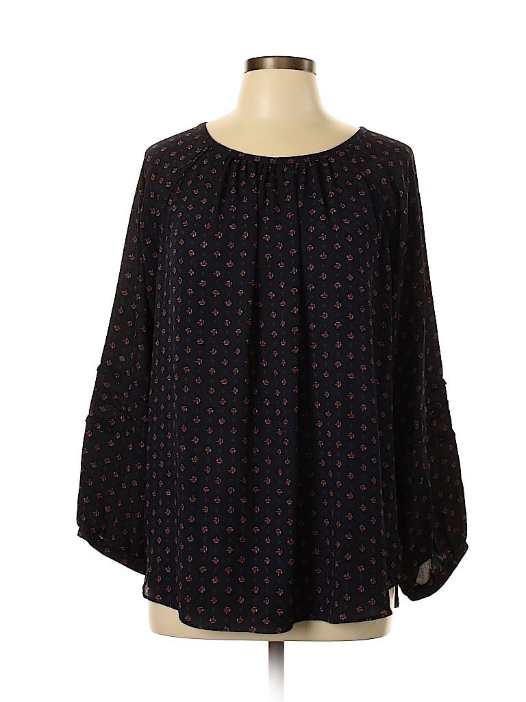 Ann Taylor LOFT Women Long Sleeve Blouse Size XL