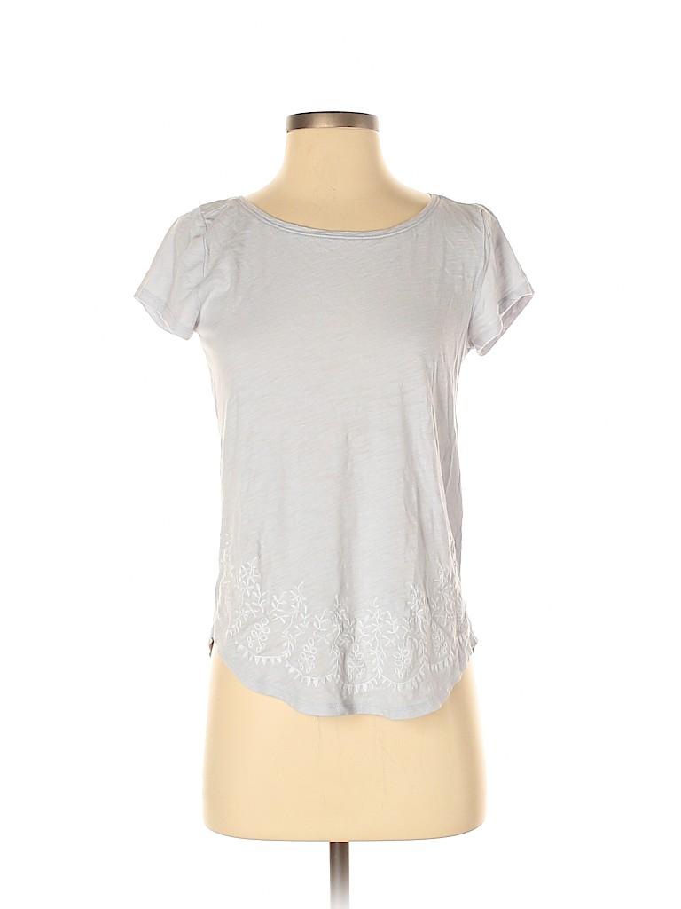 Ann Taylor LOFT Women Short Sleeve T-Shirt Size XS