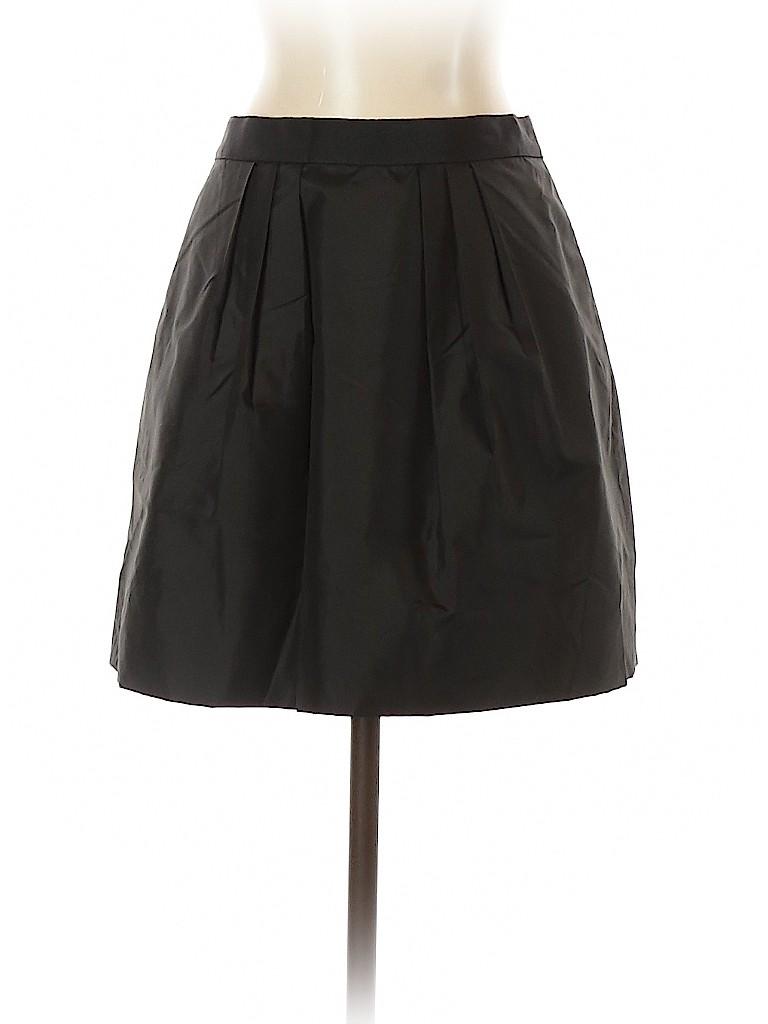 J. Crew Women Silk Skirt Size 2
